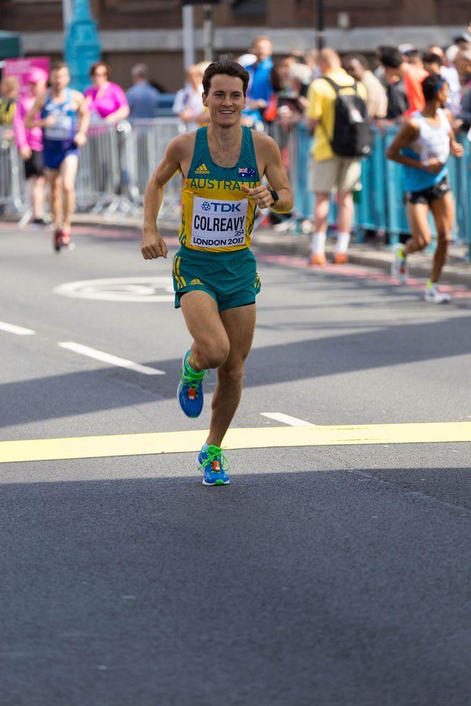 Jack Colreavy (Marathon Finale) bei den  IAAF Leichtathletik-Weltmeisterschaften 2017 in London