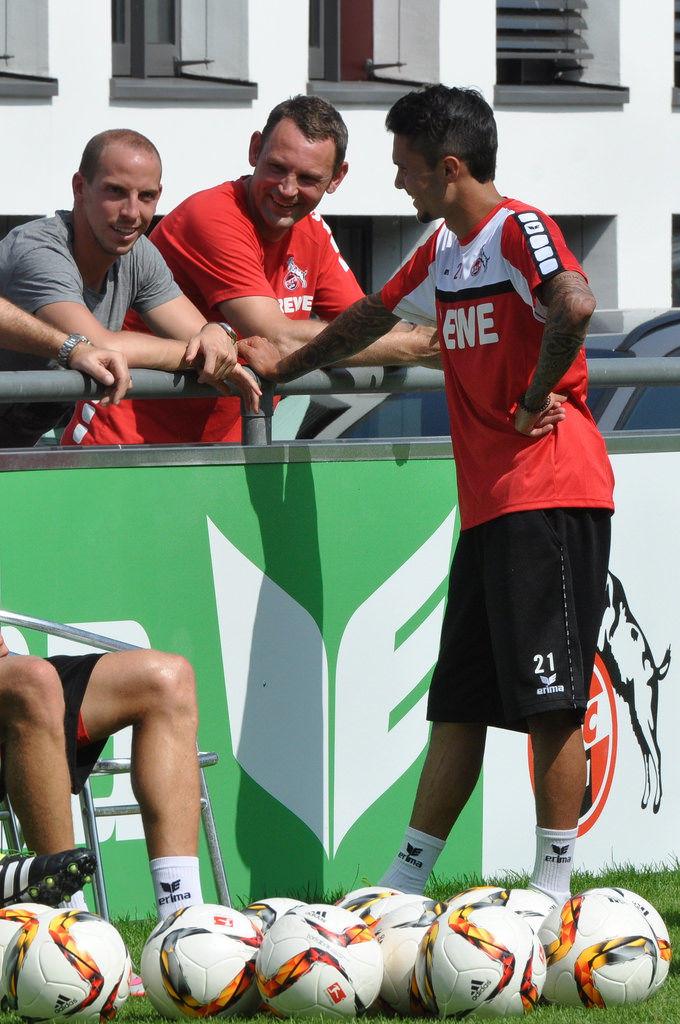 Jan Schlaudraff und Leonardo Bittencourt