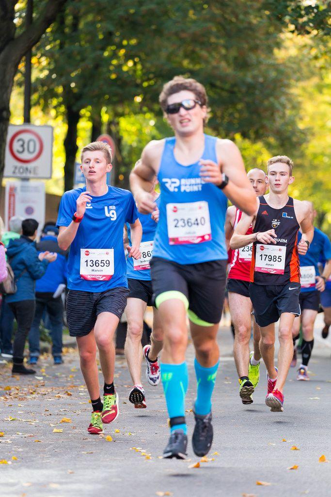 Jesinghaus Marvin, Rapacz Jakub, Hüther Jonas - Köln Marathon 2017