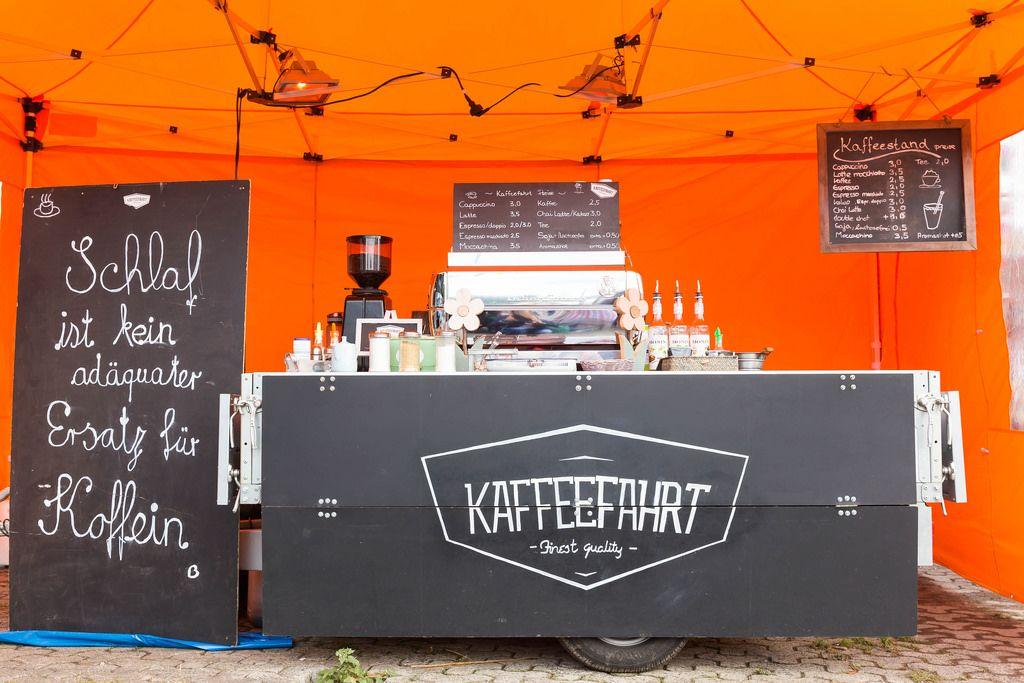 Kaffee-Stand von Kaffeefahrt