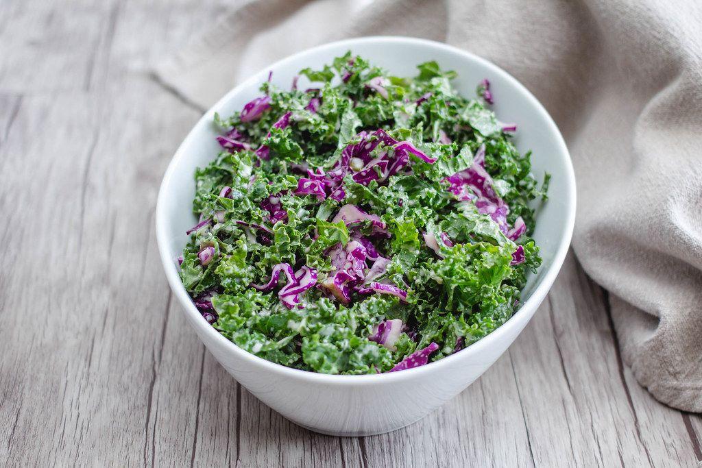 Kale Salad Close Up  (Flip 2019)