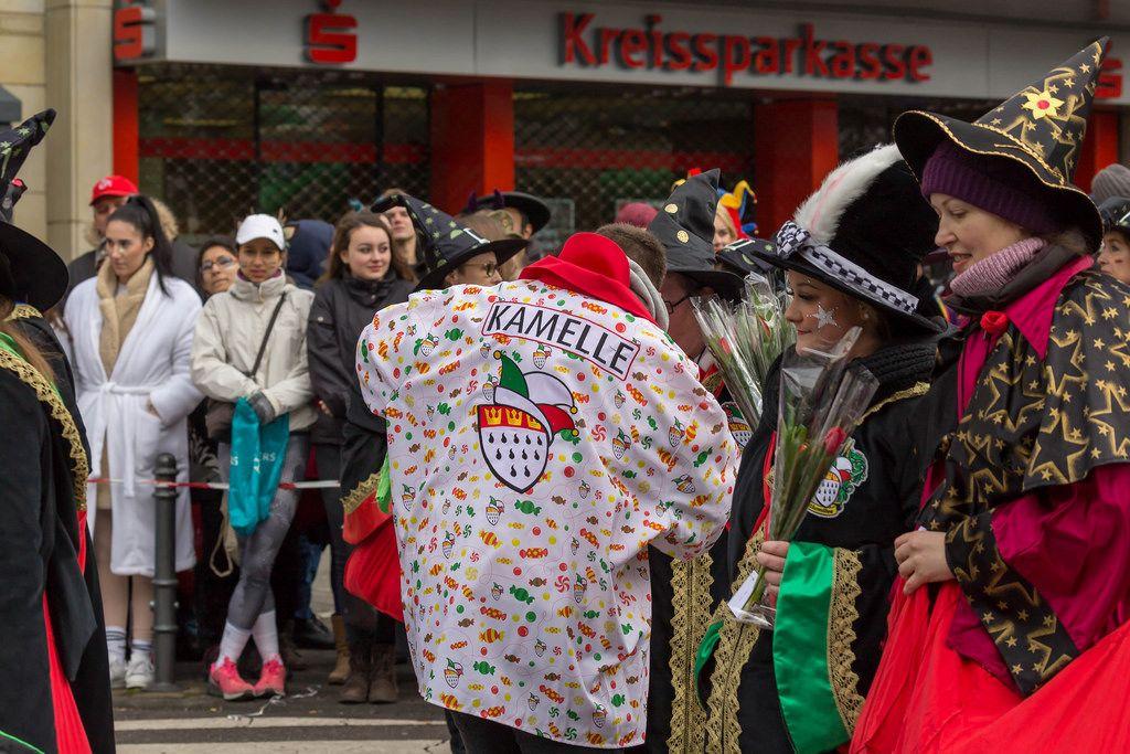 Kamelle - Kölner Karneval 2018