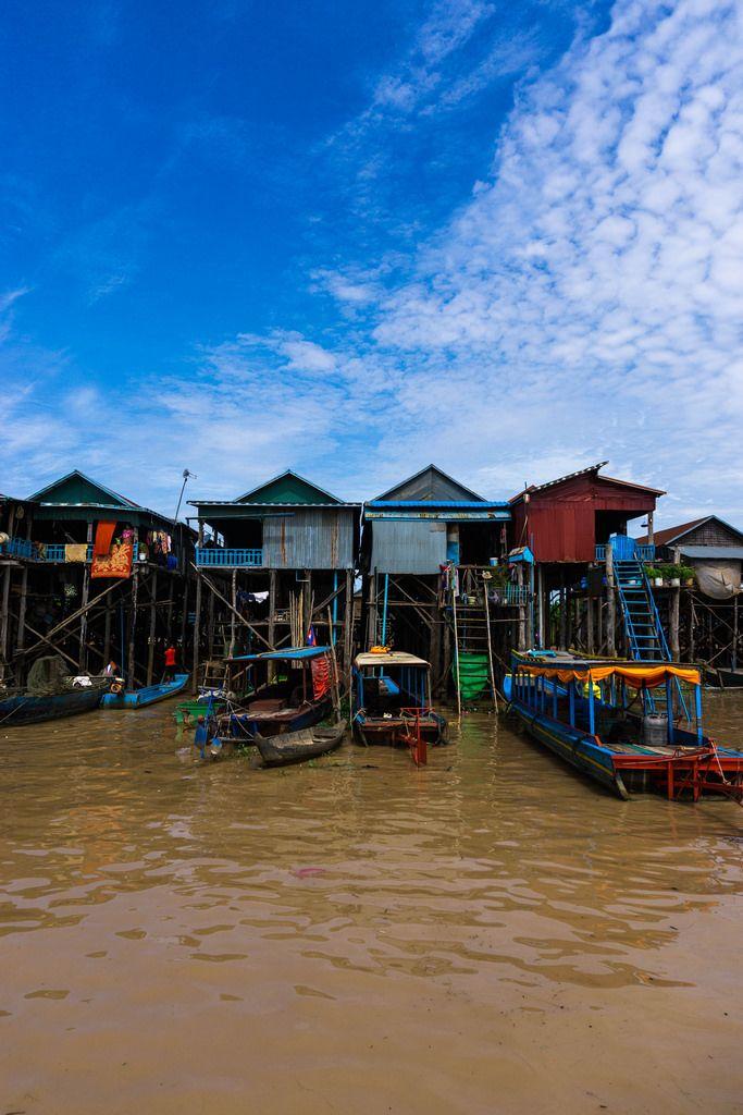 Kampong Phluk - Schwimmende Dörfer in Siem Reap