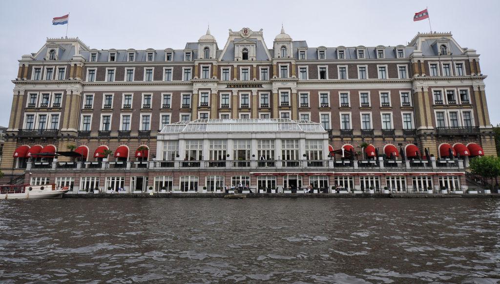 Kanalfahrt Amsterdam
