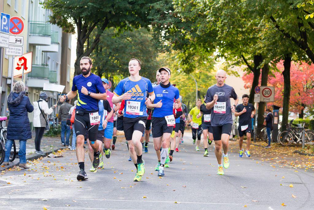 Kandel Ben, Haas Tobias, Fahje Daniel, Gögel Philipp - Köln Marathon 2017