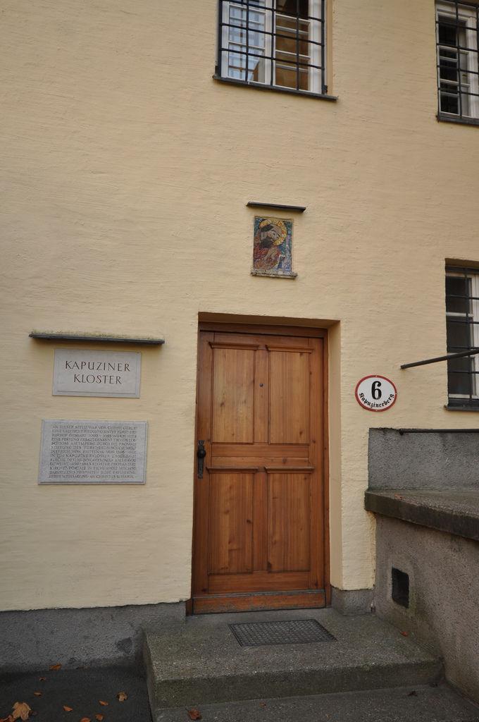 Kapuzinerkloster in Salzburg