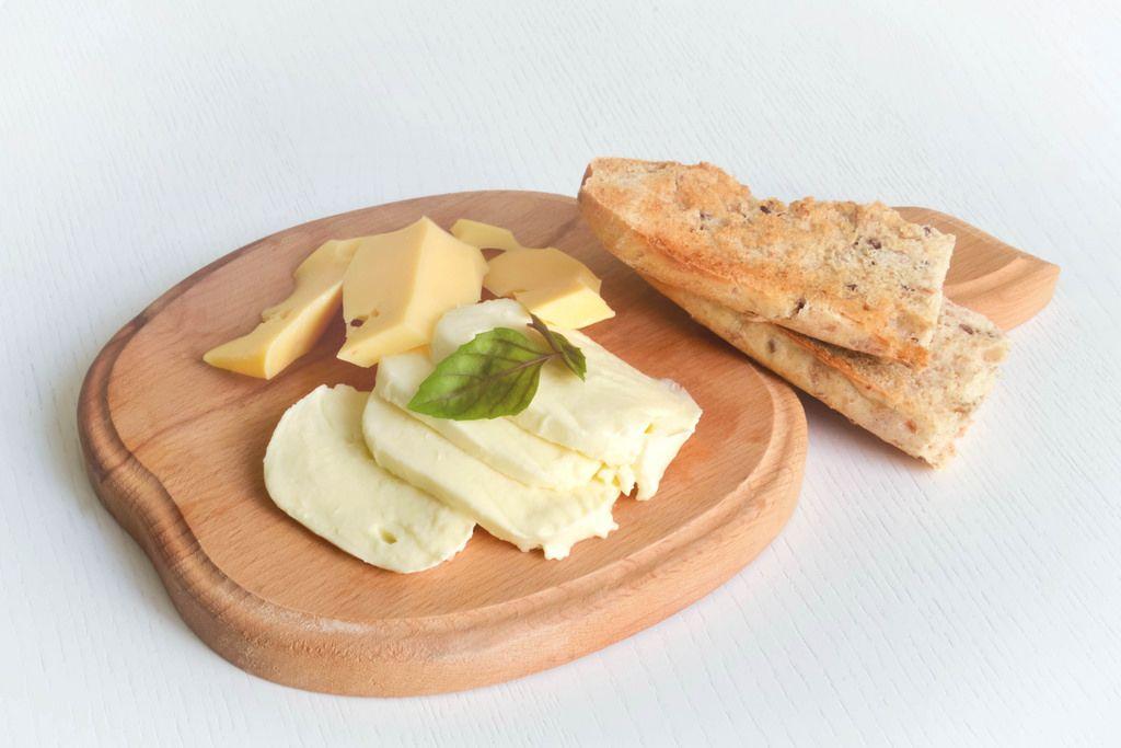 Käse und Brot