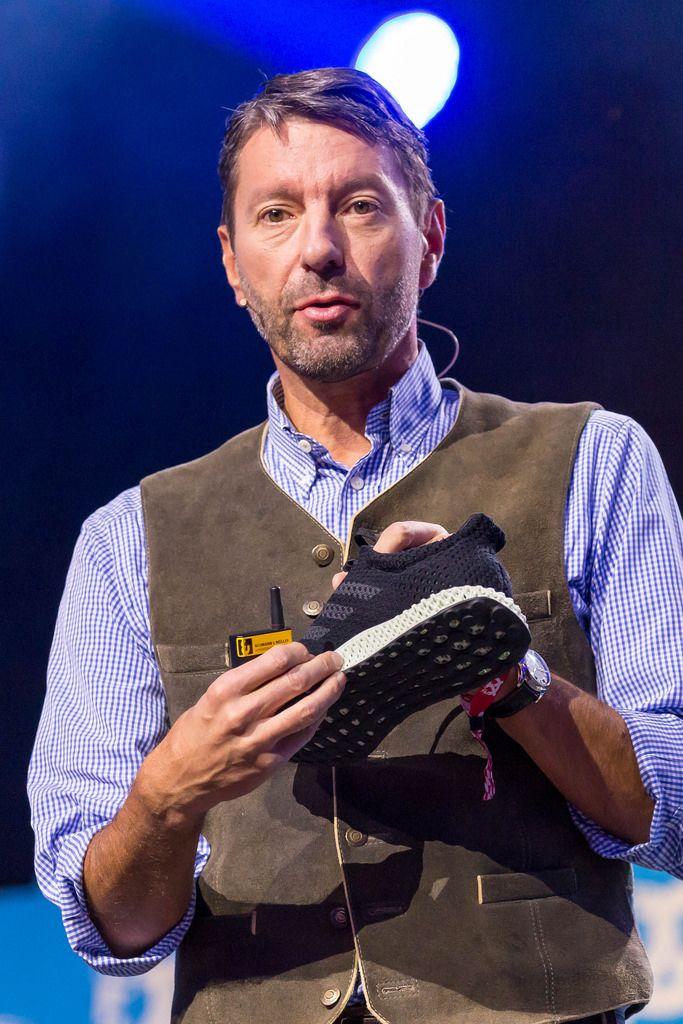 Kasper Rorsted stellt Futurecraft 4.0 vor