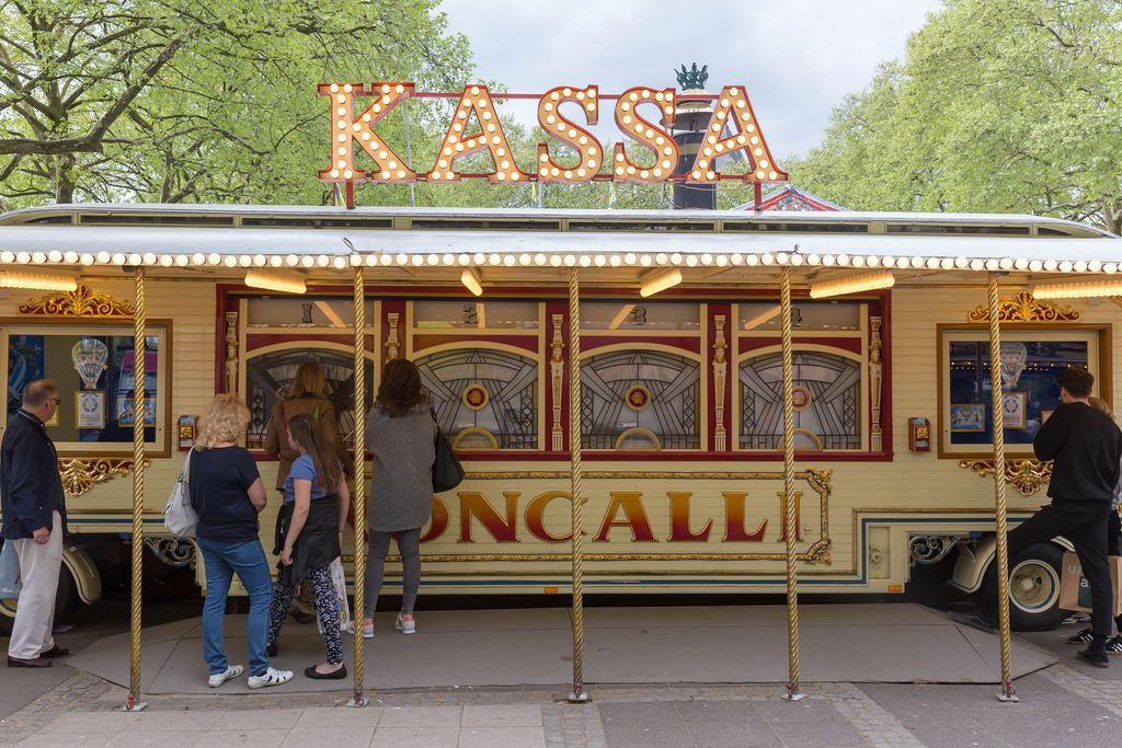 Kassa im Circus Roncalli