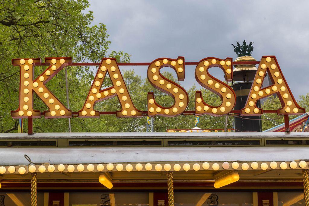 Kassa im Zirkus