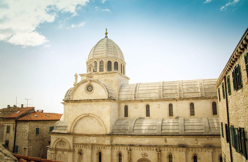 Kathedrale des Heiligen Jakob in Šibenik, Kroatien