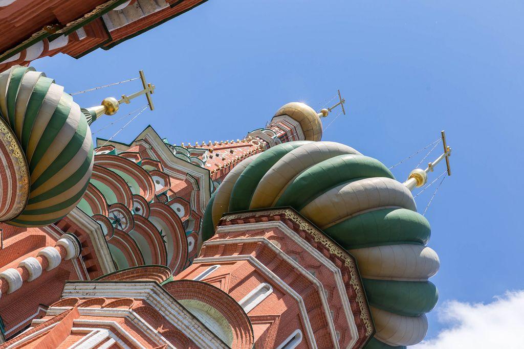 Kathedrale des seligen Basilius in Moskau