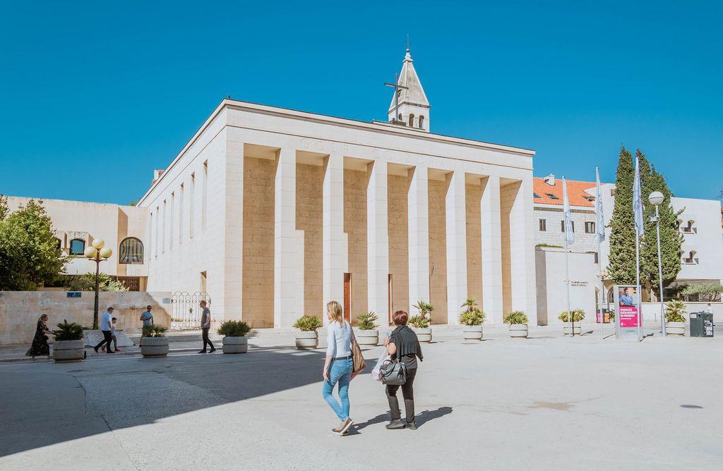Katholische Kirche in Split, Kroatien