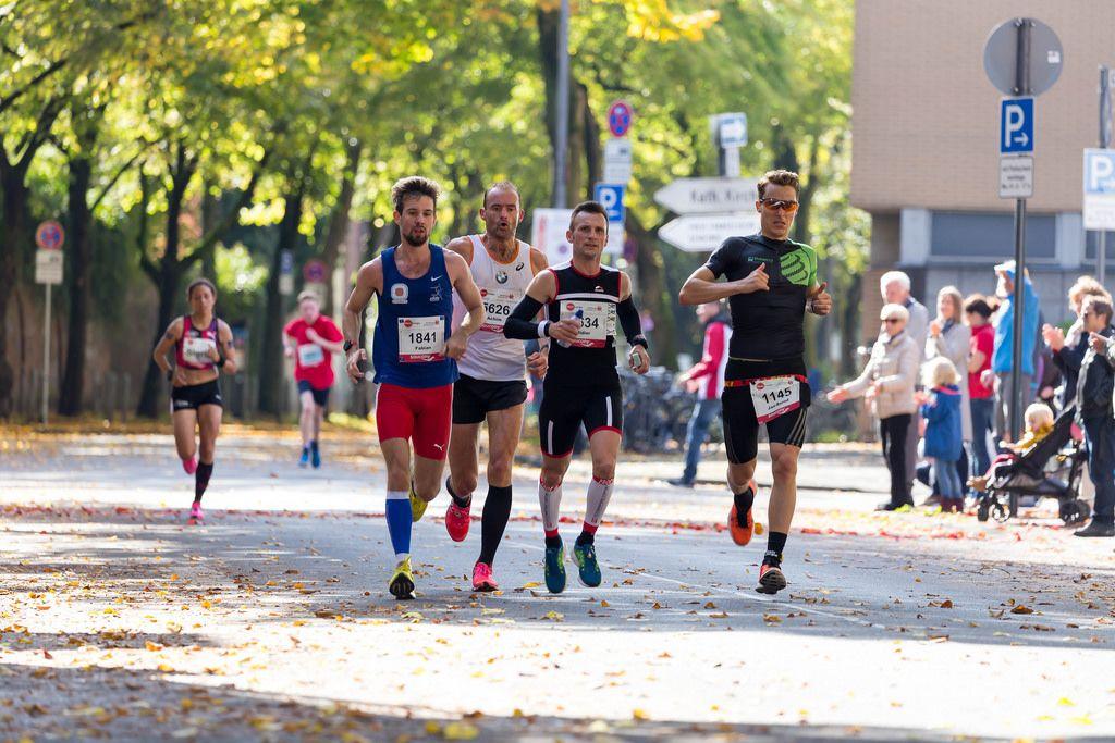 Kattlun Fabian, Borgmann Achim, Lopez-Nava Didier, Krämer Jan-Bernd - Köln Marathon 2017