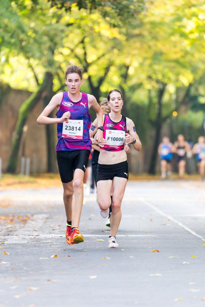 Kaufmann Justus, Heimann Lisa - Köln Marathon 2017