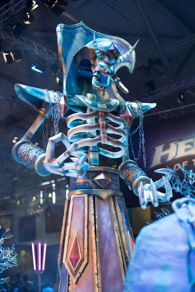 Kel'thuzad-Modell von Heroes Of The Storms