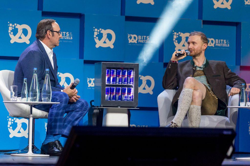 Kevin Spacey im Interview mit Lukasz Gadowski