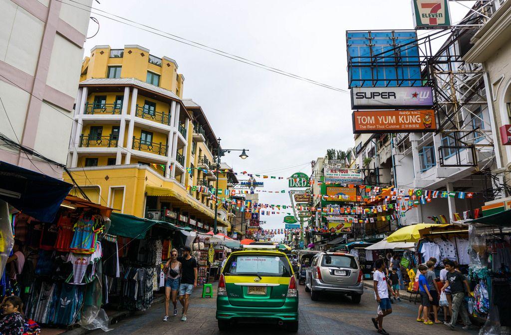 Khao San Road in Bangkok