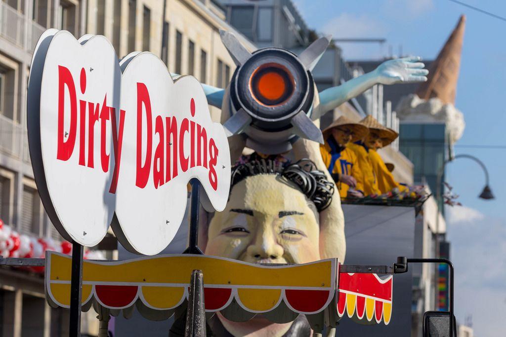 Kim Jong Un beim Dirty Dancing - Kölner Karneval 2018