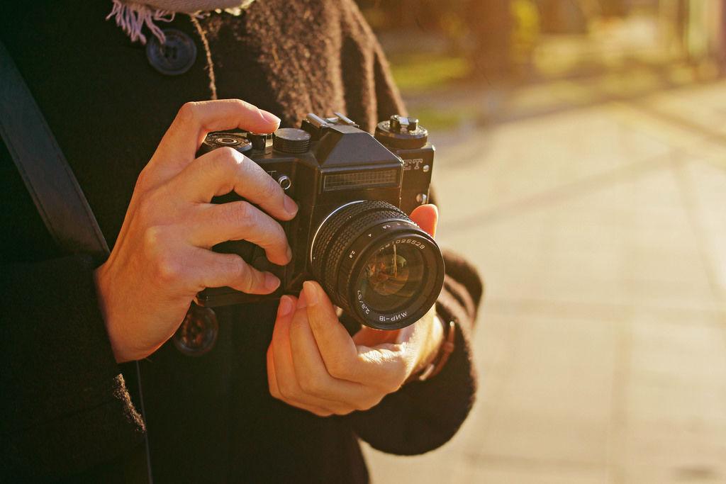 Klassische Kamera