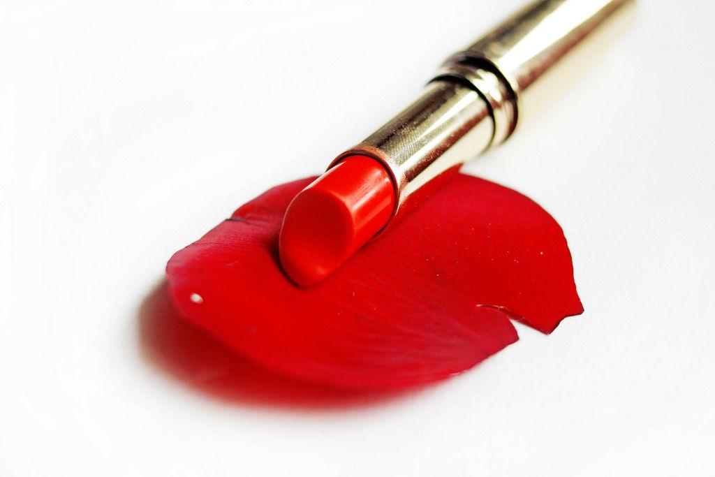 Klassischer roter Lippenstift