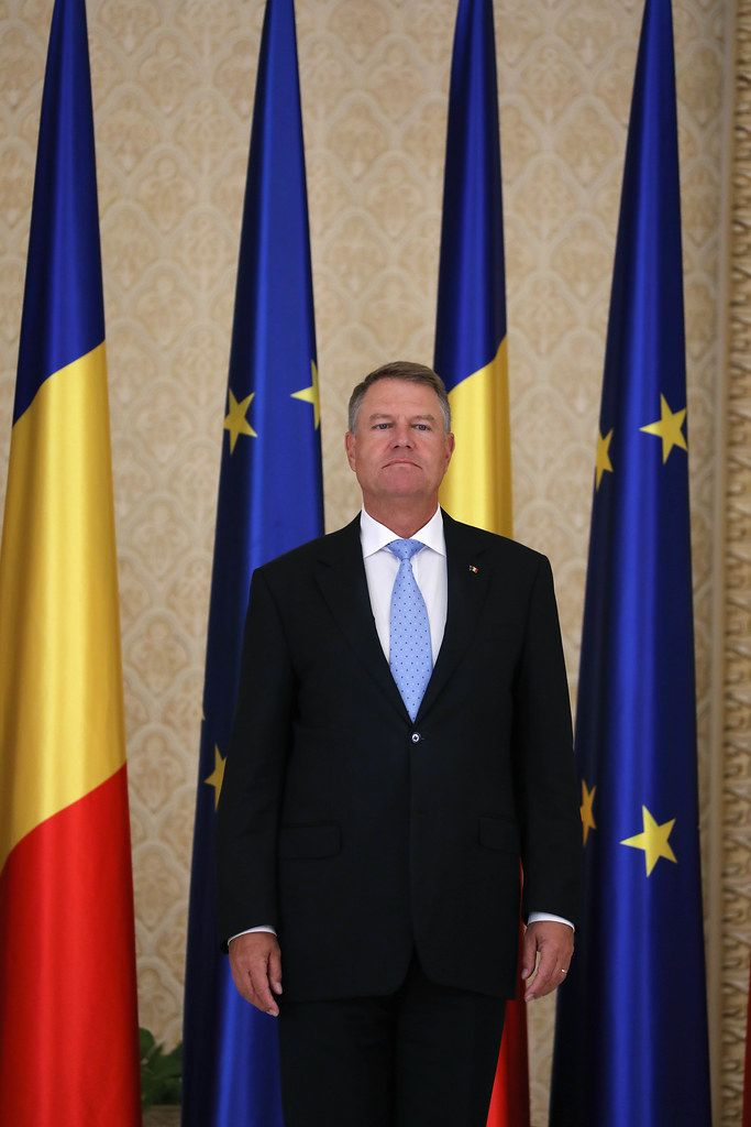 Klaus Werner Iohannis, the President of Romania the Cotroceni Palace, Bucharest