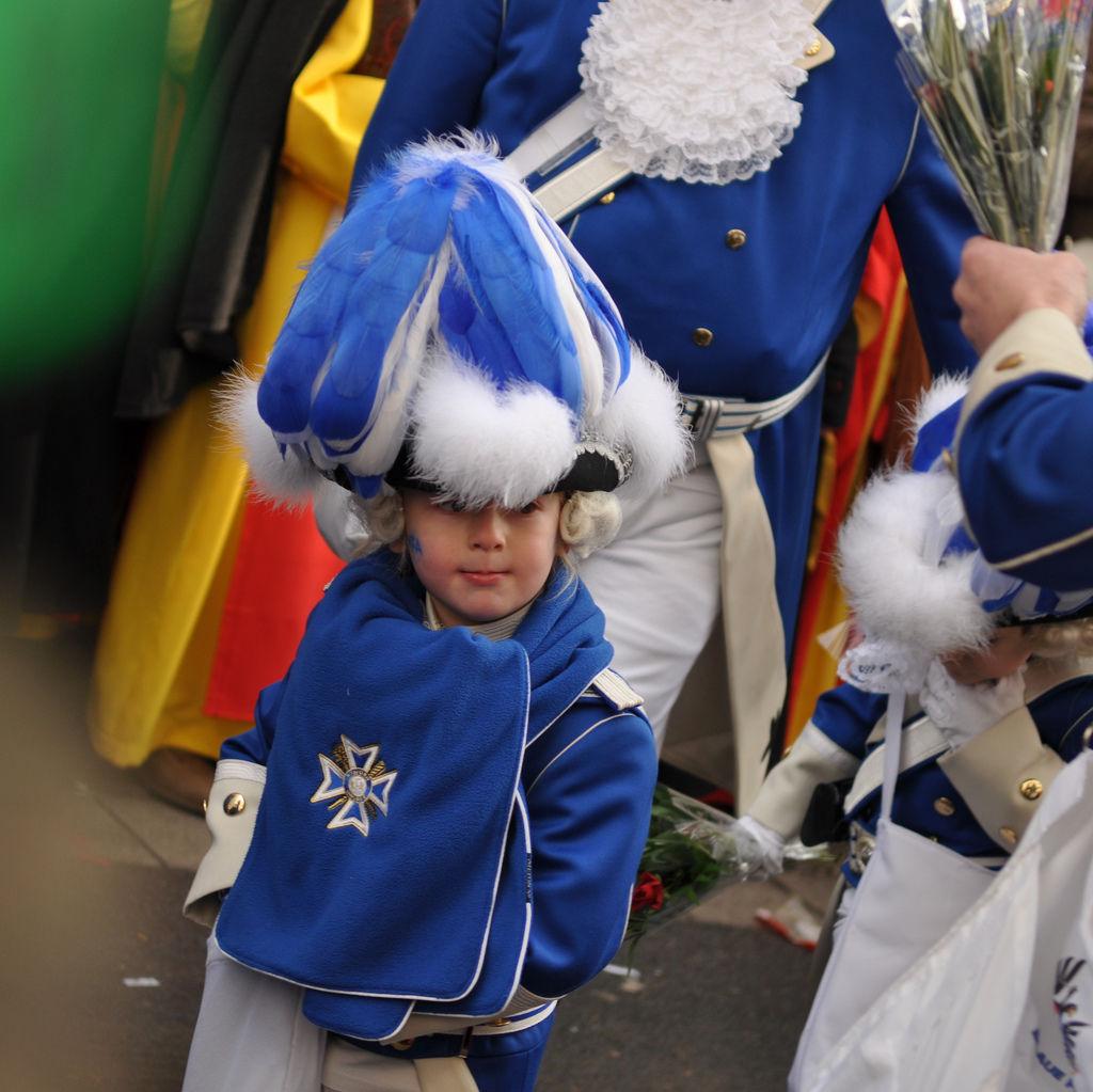 Kleiner Blaue Funke am Rosenmontagszug 2012