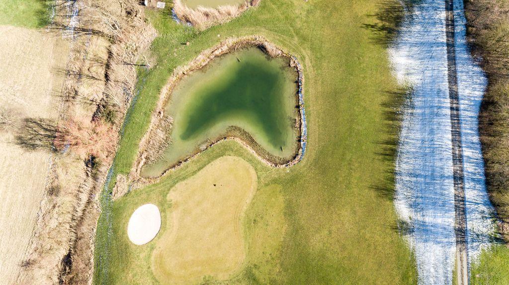 Kleiner See im Golfclub Pforzheim