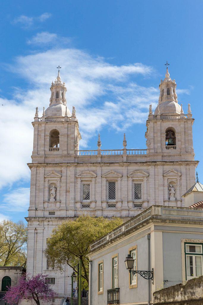 Kloster São Vicente de Fora in Lissabon, Portugal