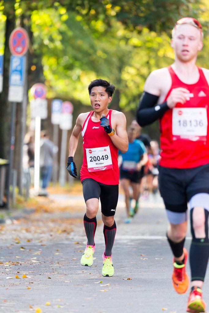 Ko Manho, van Bernum Jens - Cologne Marathon 2017