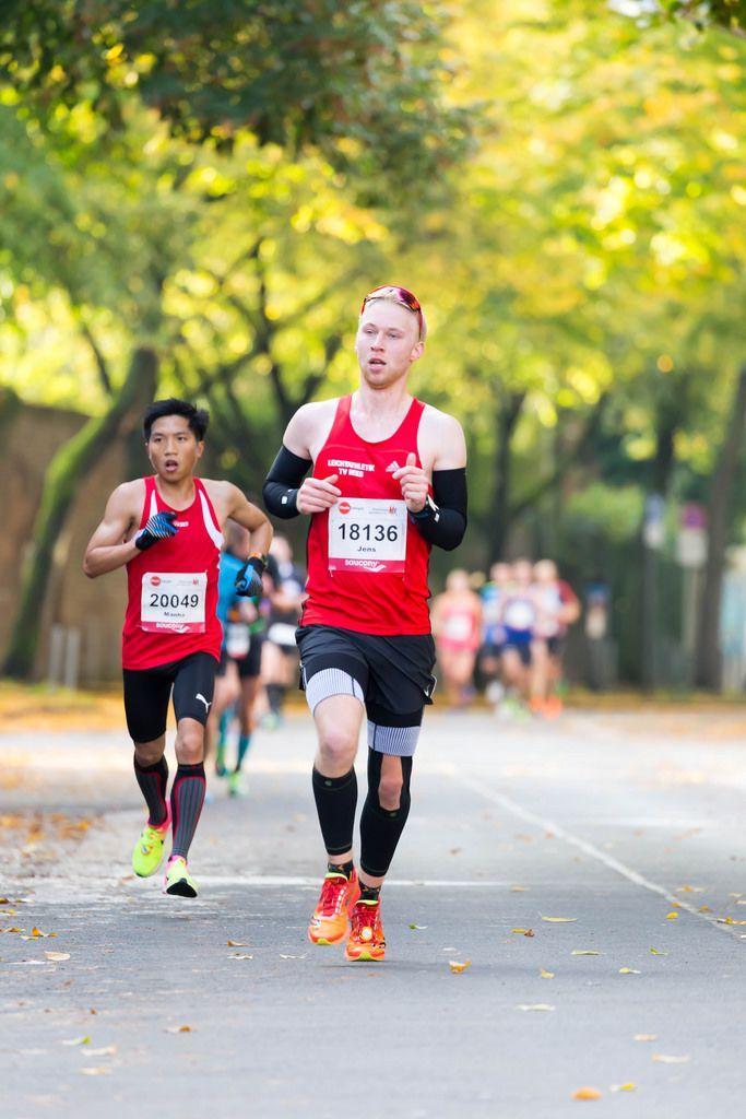 Ko Manho, van Bernum Jens - Köln Marathon 2017