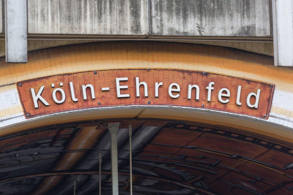 Köln-Ehrenfeld Station in Cologne