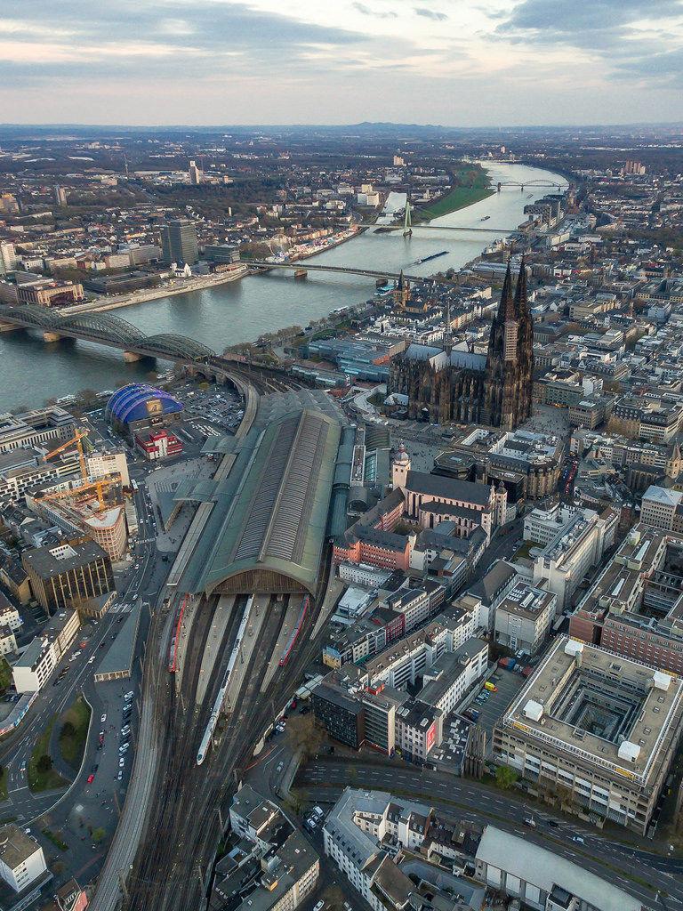 Kölner Dom, Hauptbahnhof Köln, Musical Dom und Rhein