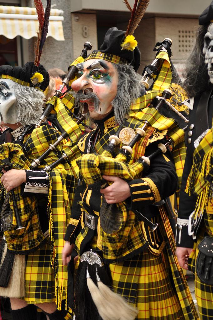 Kölner Karneval Kostüm