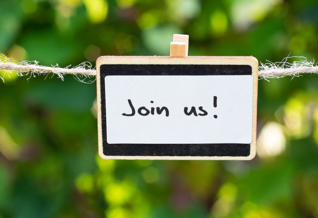 Komm mit / Join us