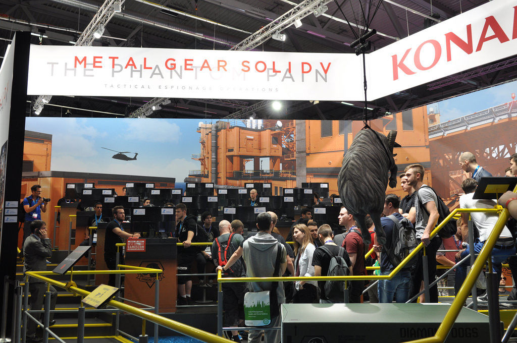 Konami: Metal Gear Solid V