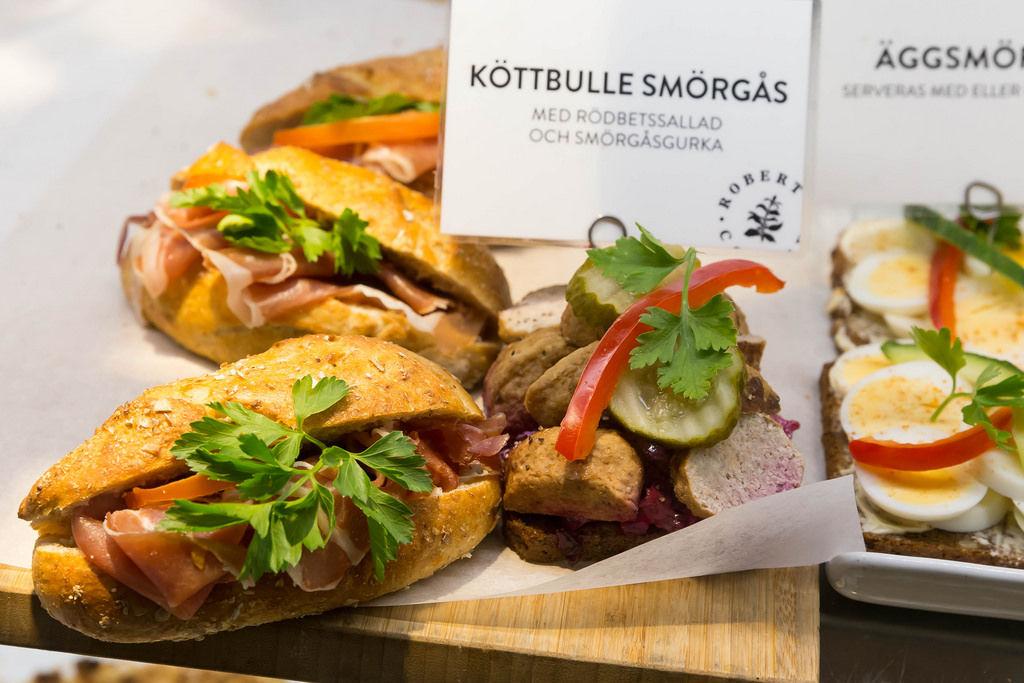Kötbullar-Sandwich