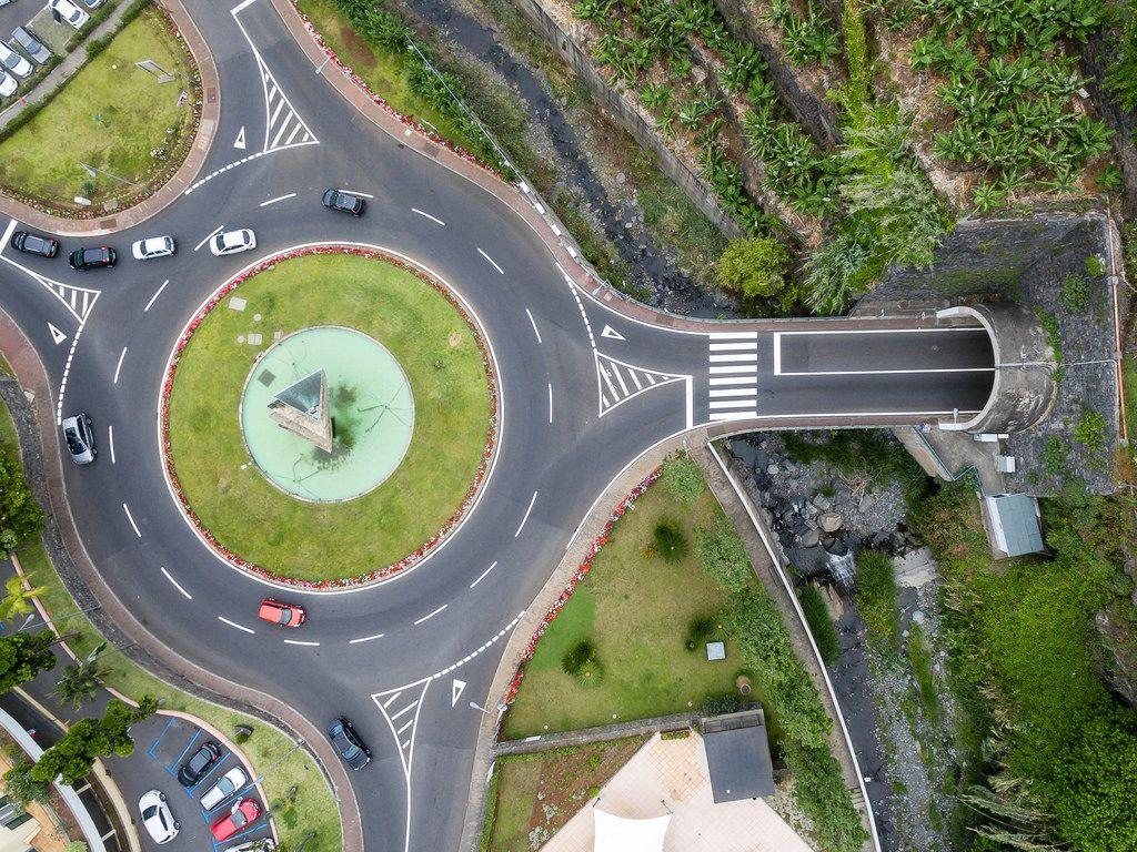 Kreisverker Ponta do Sol, Madeira