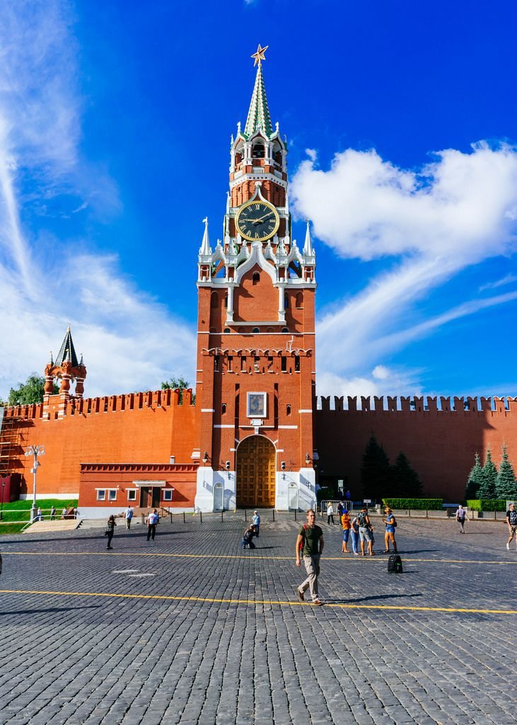 Kremlin tower / Kreml-Turm