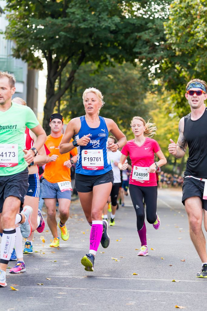 Kruck Karsten, Striegler Sören, Koopmann Nina, Meili Rahel - Köln Marathon 2017