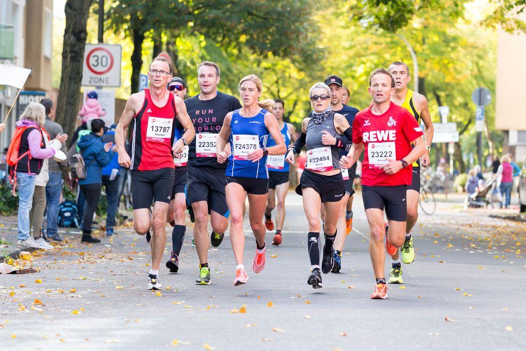 Kruck Thomas, Bauer Rene, Schenk Karin, Schank Karin, Smolka Bernd - Köln Marathon 2017