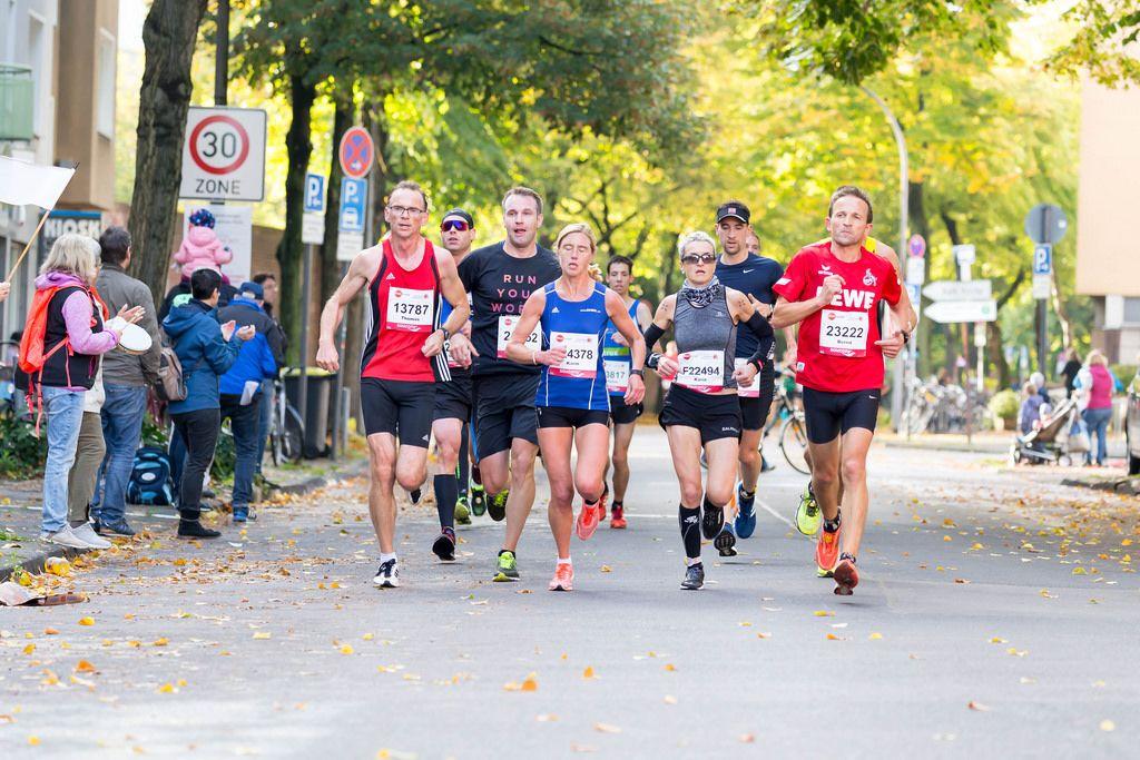 Kruck Thomas, Schenk Karin, Schank Karin, Smolka Bernd - Köln Marathon 2017