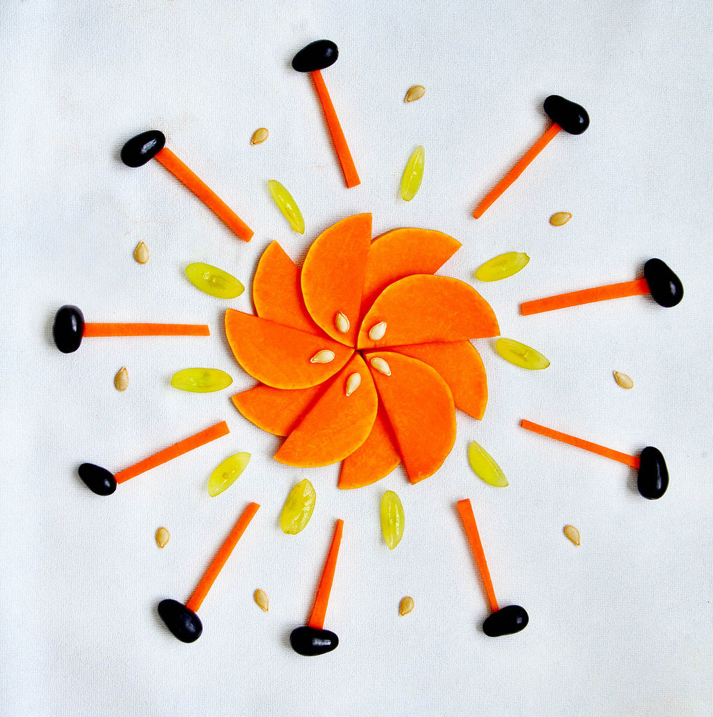 Kürbis Sonne