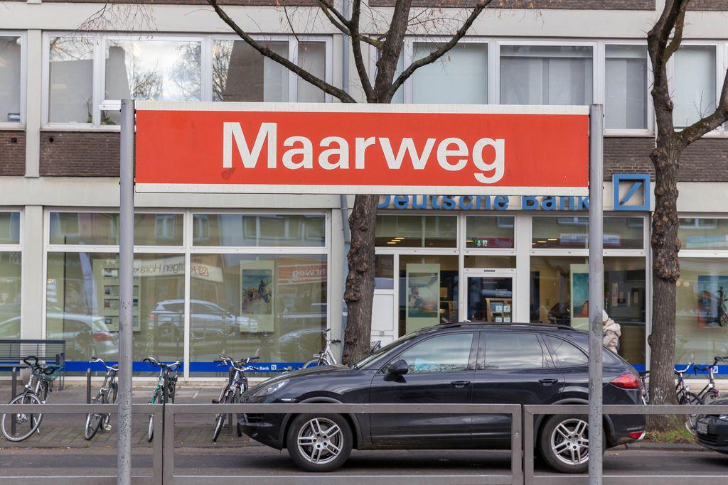 KVB-Station Maarweg an der Aachener Straße in Köln