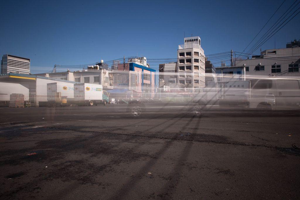 Langzeitbelichtung bei Tage - Tokyo, Japan