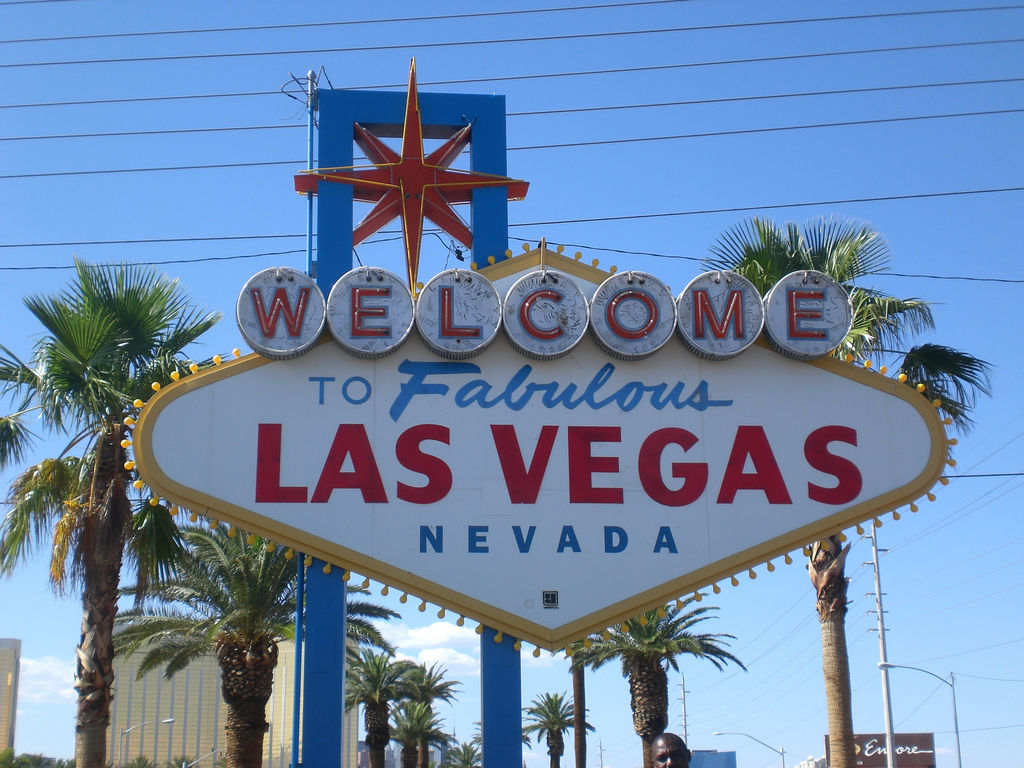 Last Vegas Welcome Sign