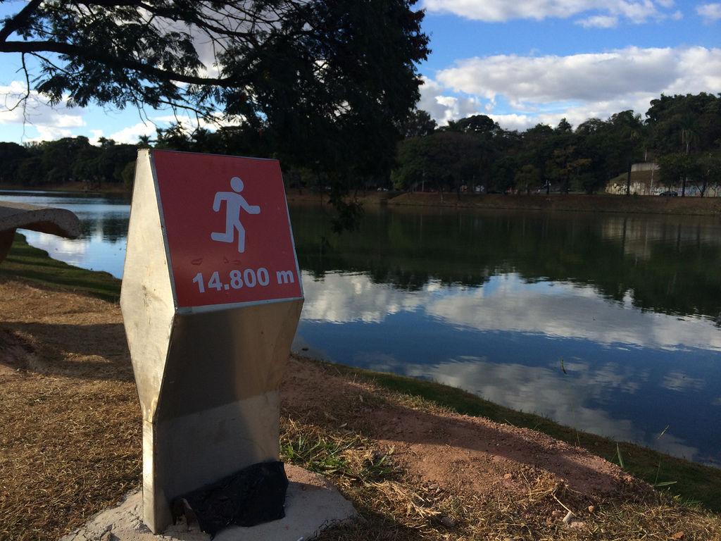Laufstrecke um Lagoa Pampulha in Belo Horizonte