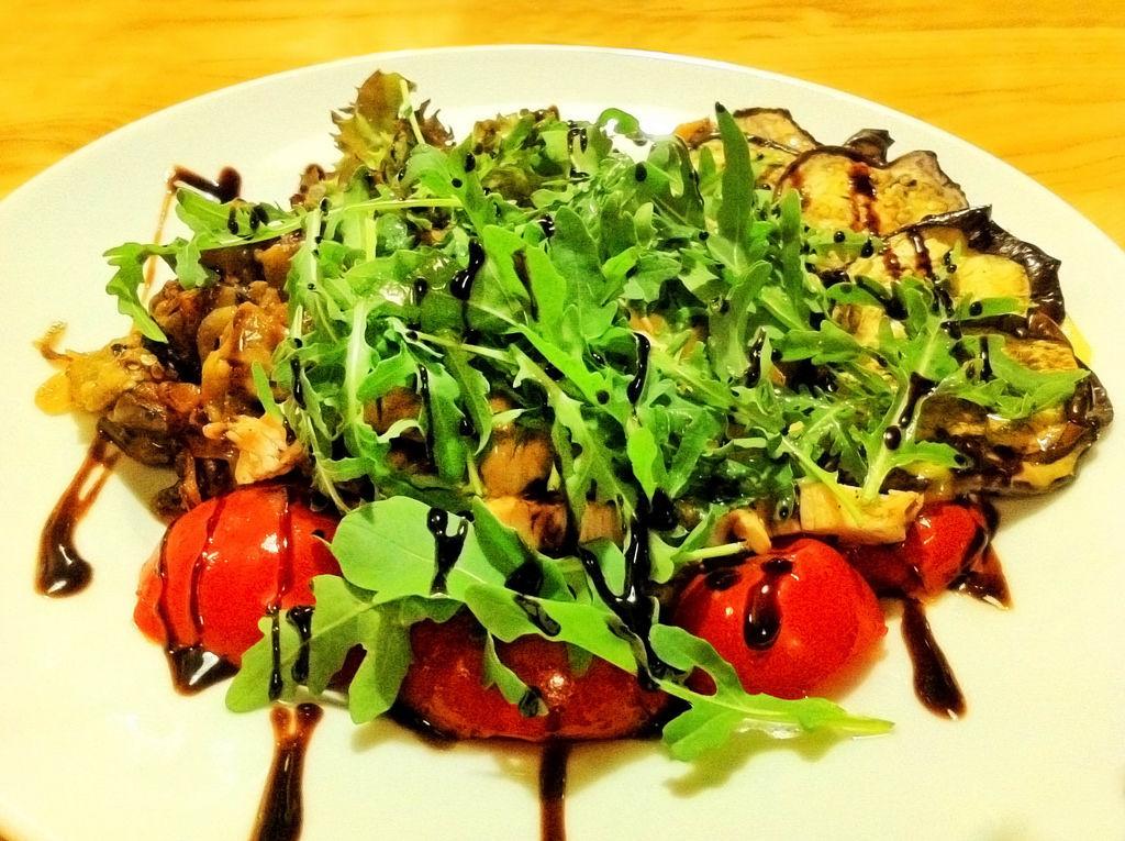 Lauwarmer Salat