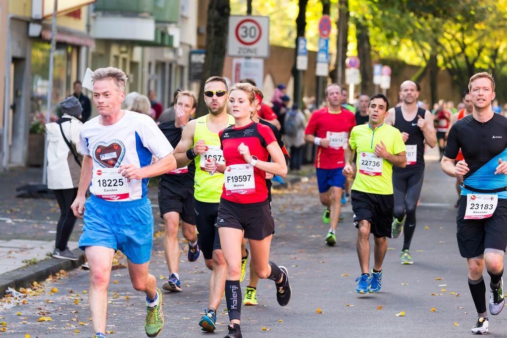 Lelke Carsten, Wierz Marina, Hadid Ehsan, Müller Alexander - Köln Marathon 2017