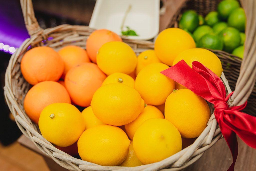 Lemons And Oranges In Basket.JPG